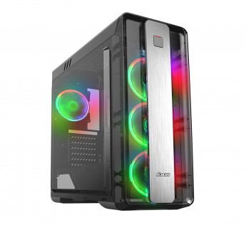 Foxin Cabinet FGC9904 Cabinet Titan Mid-Tower Gaming Cabinet (Case Without SMPS)