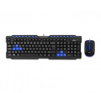 Foxin Keyboard And Mouse FKM 506 PRO Multimedia Keyboard And Mouse Combo Black