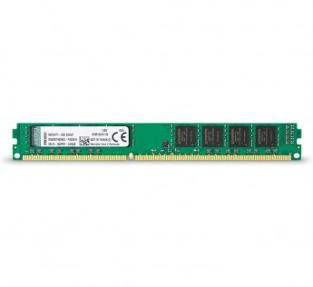 Kingston 8GB Ram DDR3 desktop memory 1600MHzs DDR3L Non-ECC CL11 DIMM 1.35V Desktop Memory KVR16LN11/8,Green