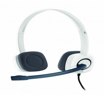 Logitech H150 Stereo Headset (Cloud White)