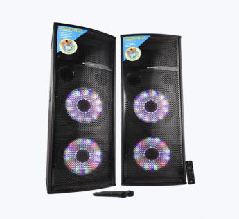 Monster Pro 2X20L Zebronics Speaker