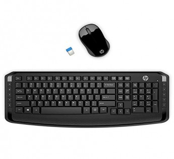 HP Keyboard and Mouse 3ML04AA Wireless Keyboard and Mouse Combo