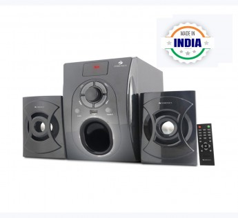 Compium Zebronics ZEB-SW351RUF 2.1 Multimedia Speakers (Black)