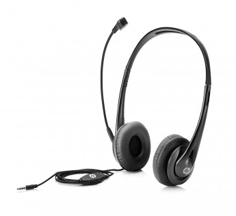 HP Stereo 3.5mm Headset (Black)