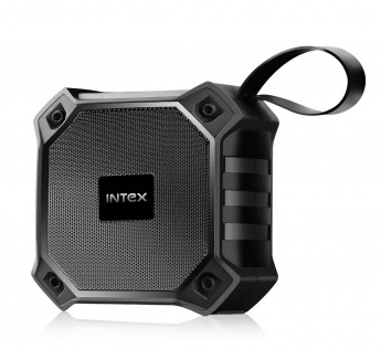Intex Beast 101 Portable BT Speaker with TWS Function, USB,mSD, AUX,Mic & Fabric Finish(Black)