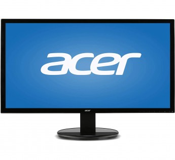 Acer 19.5 inch (49.53 cm) LED Backlit Computer Monitor - K202HQL (Black)