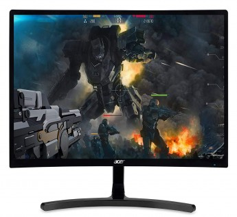 Acer 23.6 Inchs VA Panel Curved Full HD 1920 x 1080 144Hz 4MS LED Monitor I HDMI Display Port I AMD FreeSync Technology I Eye Care Features (ED242QRA)