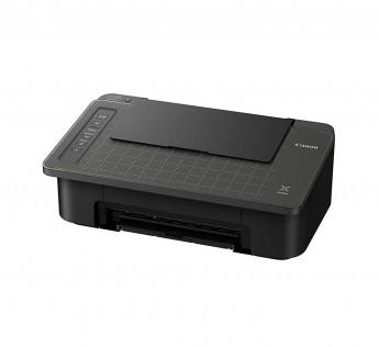 Canon Printer Pixma TS307 Single Function Wireless Inkjet Colour Printer (Black)