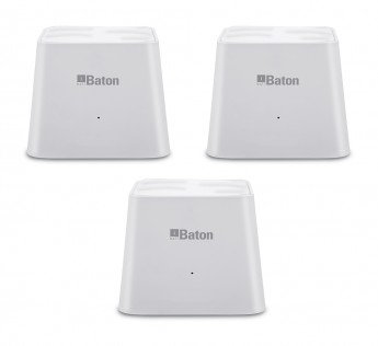 i ball ROUTER AC 1200 GIGABIT SMART MESH ROUTER (PACK OF 3)