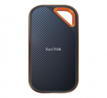 SanDisk 1TB Extreme PRO Portable External SSD - Up to 1050MB/s - USB-C, USB 3.1, IP55 Rated, for MAC & PC - SDSSDE80-1T00-G25