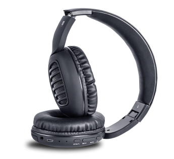 i ball DECIBEL BLACK-ALEXA WIRELESS HEADPHONE