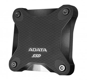 ADATA 960GB SSD SD600Q  Military Grade Light Compact Portable External Solid State Drive (Black)