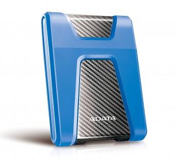 A-DATA HD650 2TB USB 3.0 Portable External Hard Drive - Blue