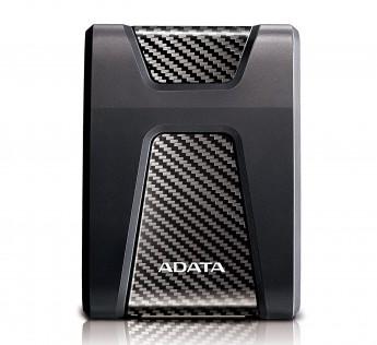 ADATA HD650 2TB USB 3.2 Shock-Resistant External Hard Drive, Black (AHD650-2TU31-CBK)