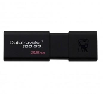 Kingston DataTraveler DT100G3 32GB USB 3.0 Flash Drive (Black)