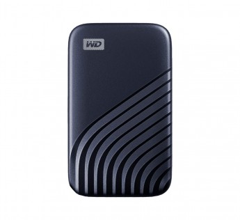 WD My Passport SSD 500GB, Midnight Blue, 1050MBs Read, 1000MBs Write, for PC & Mac, 5Y Warranty