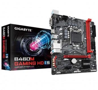 GIGABYTE Motherboard B460M Motherboard Gaming HD Motherboard with GIGABYTE 8118 Gaming LAN, PCIe Gen3 x4 M.2, Anti-Sulfur Resistor, Smart Fan 5.