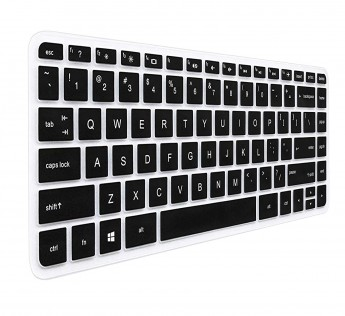 HP Laptop cover keyboard skin for 13.3'' Pavilion x360 M3-u001dx M3-u003dx M3-u103dx M3-u101dx M3-u105dx Laptop -Black with Clear