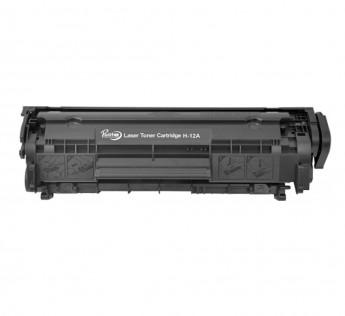 Prodot Prolite HP-12A Compatible Toner Cartridge for HP and Canon Laser Printer - Black