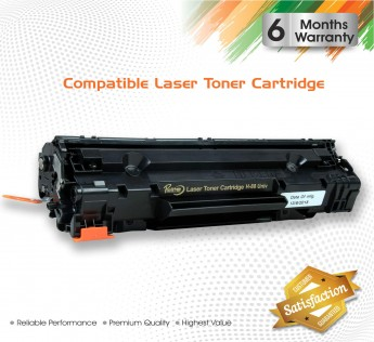 ProDot Prolite HP-88 Compatible Laser Printer Toner Cartridge Universal for HP 435A/436A/388A