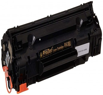 ProDot Compatible Laser Printer Toner Cartridge PLH 388A for HP Printers (Black, Pack of 2)
