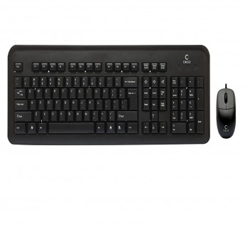 Circle Keyboard And Mouse SIMPLE COMBO (USB+USB)