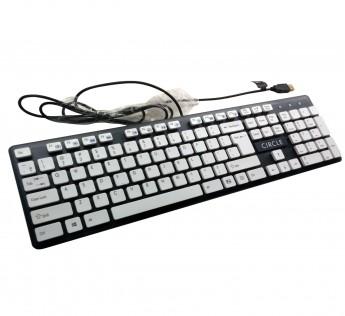 Circle Keyboard C23 PERFORMER Keyboard WHITE