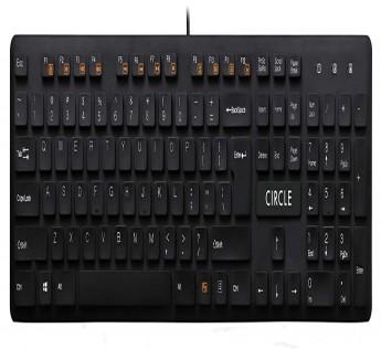 Circle Keyboard C23 PERFORMER Keyboard BLACK
