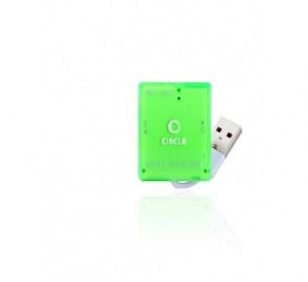 Circle-MULTI-CARD READER 5.1 (GREEN)