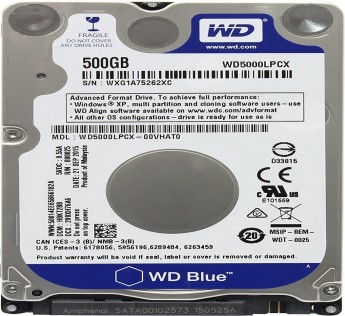 Western Digital Electronics 500GB Hard Drive for Playstation 2. 5/Playstation 3/Playstation 4