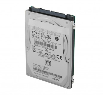 "Toshiba MK1665GSX 160GB 2.5"" SATA 3.0Gb/s Notebook Hard Drive"