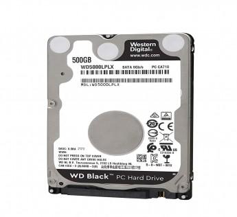 Western Digital Black 500GB SATA 2.5-inch 7200RPM Laptop Hard Drive (WD500LPLX)