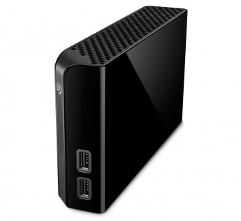 Seagate STEL4000300 4TB External HDD Backup Plus Hub 4 TB External HDD USB 3.0 for Windows and Mac, 3 yr Data Recovery Services, Desktop Hard Drive with 2 USB Ports and 4 Month Adobe CC Photography