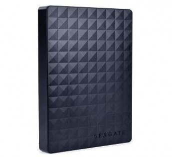 """Seagate Expansion Portable 2 Terabyte (2TB) SuperSpeed USB 3.0 2.5"""" External Hard Drive (Black)"""
