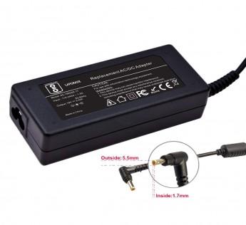 19V 3.42A Lapgrade Adapter Charger for Acer Aspire V5-121 V5-122P V5-131 V5-431 V5-571 Series (Without Power Cable)