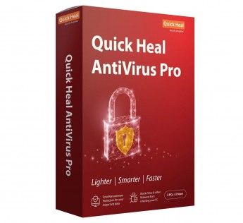 Quick Heal Antivirus Pro - 1 PC, 3 Year (CD/DVD)
