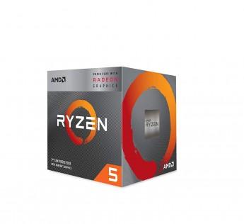 AMD Ryzen 5 Processor Graphics Desktop Processor 3400G with Radeon RX Vega 11 Graphics Desktop Processor 4 Cores up to 4.2GHz 6MB Cache AM4 Socket (YD3400C5FHBOX)