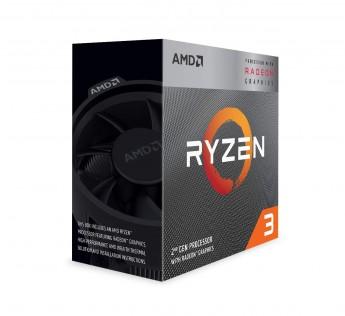 AMD Ryzen 3 Processor Desktop Processor 3200G with Rade onVega 8 Graphics Desktop Processor 4 Cores up to 4GHz 6MB Cache AM4 Socket (YD3200C5FHBOX)