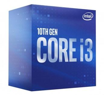Intel Core i3 Processor CPU BX8070110100F Core i3-10100F / 3.6GHz / 6MB LGA1200 4C / 8T