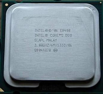 Intel Core 2 Duo Processor E8400 3.0GHz 1066MHz 3MB Socket 775 Dual-Core CPU