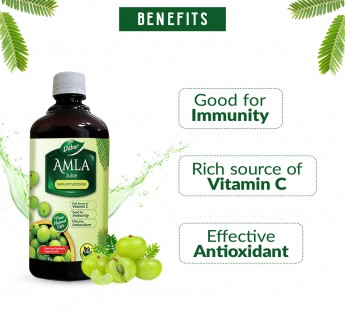 DABUR Amla Ayurvedic Juice 100% Ayurvedic Health Juice 1Litre