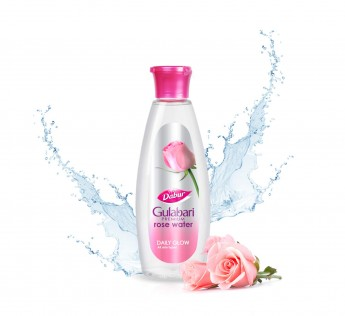 DABUR Gulabari Premium Rose Water – 100% Natural, 400 ml