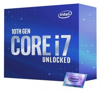 Intel Core i7 Processor 10700K Desktop Processor 8 Cores up to 5.1 GHz Unlocked  LGA1200 (Intel 400 Series chipset) 125W