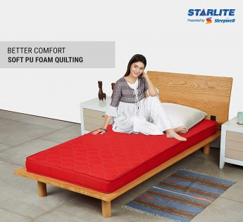 Sleepwell Starlite Discover Firm Foam Mattress (72x36x4)