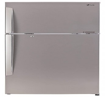 LG 420 L 3 Star Frost Free Double Door Refrigerator (GL-I472QPZX, Shiny Steel, Smart Inverter Compressor)