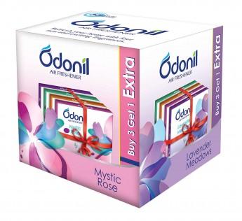 Odonil Air Freshener Blocks - 50g (Pack of 4)