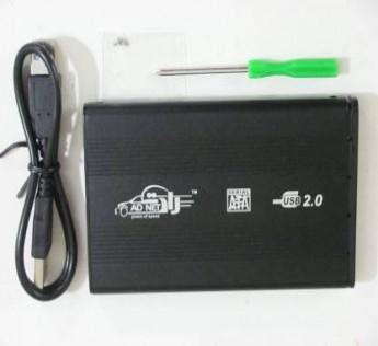 Adnet Roboferocia Hdd Enclosure 2.5 inch Hard Disk Case  (For Windows 8, Windows 7, Windows Vista, Windows XP, 2003 Server, Black)
