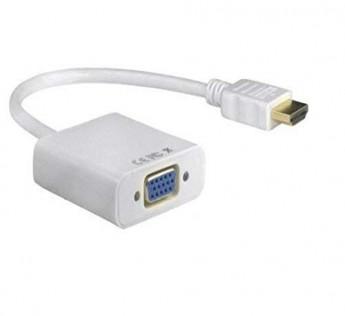 ADNET HDMI to VGA Converter Adaptor (White)