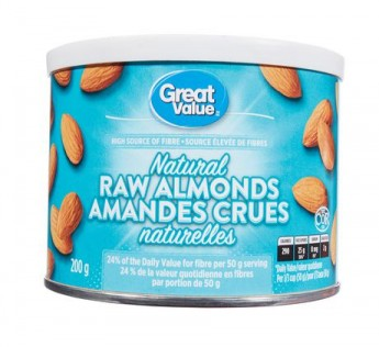 Great Value Almonds 200 g
