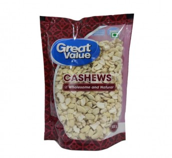 Great Value Cashews W320 200gm Cashew Great Value